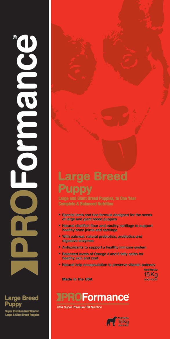 Proformance Puppy - Large breed foder